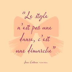 L'esprit John Frieda - Citation de jean Cocteau