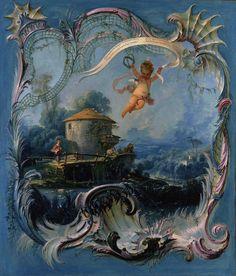 Francois+Boucher+~+The+Enchanted+Home,+A+Pastoral+Landscape+Surmounted+By+Cupid,+1740-42.jpg 1368×1600 pixels
