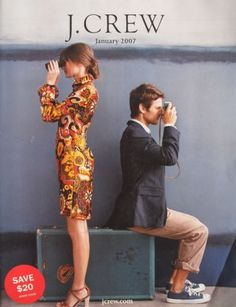 January 2007 J Crew Clothing Catalog