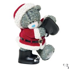 Me To You Bear Figurine - In From the Cold, Tatty Teddy dressed up as santa.  Perfect gift for any collector.  Fast Uk delivery, Free Delivery over £50.00