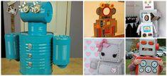 Diferentes robots para hacer con los niños. ¡Alucinarán!
