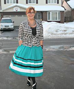Ehakti Skirt and Tmart Cardigan