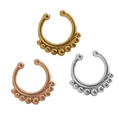1pc-Non-Piercing-Tribal-Simple-Septum-Hanger-Clip-On-Fake-Nose-Ring-Body-Jewelry