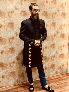 #clientdiaries #art #design #men #mensfashion #menswear #fashiondesign #style #inspirational #instagood #instagram #indian #indianwedding #indianfashion #indianwear #sherwani #thread #zari #embroidery #embroiderypatterns #artwork #hyderabad #groom #groomsmen #handmade #blog  #blogger #blogging Wedding Dresses Men Indian, Wedding Dress Men, Indian Groom Wear, Indian Wear, Indian Fashion, Fashion Art, Fashion Design, Mens Kurta Designs, Sherwani