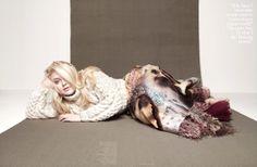 Dakota Fanning photographed by Karen Collins for InStyle UK, December 2012