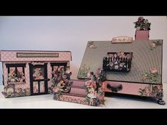 annes papercreations: Tutorial and measurements for the house boxed Children`s Hour Mini Album
