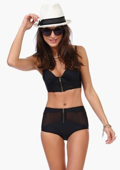 Get Meshy Swimsuit by Necessary Clothing