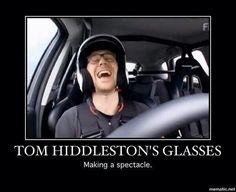 Tom's glasses