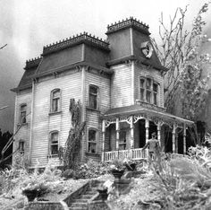 The Bates Motel from Psycho!