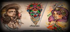 2014 girl tattoo set @s0ur Grapes