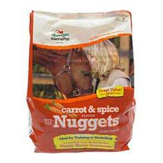 Bite-Size Nuggets Treats for Horses Carrot & Spice 4 lb - Item # 38212