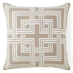 """Happy Chic by Jonathan Adler Holly 18"""" Geometric Square Decorative Pillow  found at @JCPenney"""