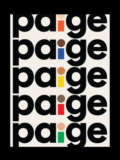 Matthijs Matt van Leeuwen, Paige, Interbrand, Logo