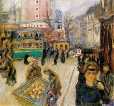Montmartre (also known as View of Paris)Pierre Bonnard - 1905