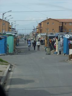 Cape Town: Our walk into Langa.