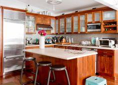 Welcome to #Brooklyn   #Loft   #Interior #Design   Beautiful #Wooden #Kitchen