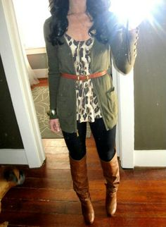 Fall Outfit... And it's work color code appropriate. Almost.