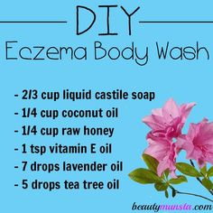 About 20% of children worldwide are said to suffer from eczema. It is a debilitating condition that causes dry flaky skin, itchiness, crusty skin, blisters and other painful skin problems. People with eczema have very sensitive skin that reacts badly to conventional products such as lotions, soap and body washes. That's why many people who …