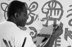 MOVEMENT 2005 acrylic on canvas 120 x 140 cm; MOVEMENT 2005 acrylic on canvas 140 x 120 cm Op Art, Love You, Canvas, Inspiration, Ghana, Studios, Artists, Google Search, Ideas