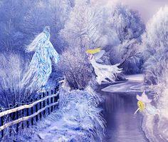 Die Schneekönigin delegiert ihre Elfen
