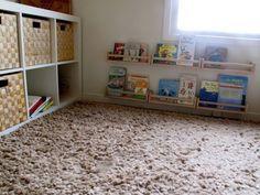 Coberto por carpete