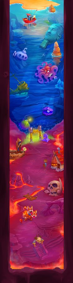 Hellish Stan - Game Art on Behance