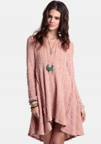 Let's Get Lost Sweater Dress
