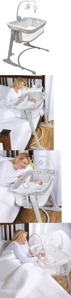 Other Baby Safety and Health 20436: Arm S Reach Versatile Adjustable Infant Baby Co-Sleeper Bedside Bassinet Bliss -> BUY IT NOW ONLY: $189.99 on eBay!