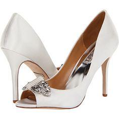 Davida from Badgley Mischka #heels #wedding #zappos