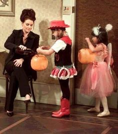 Trick or Treat.......hahaha Karen from Will and Grace. My favorite scene.