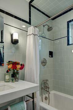 Vintage Apothecary Bathroom Craftsman Bathroom New