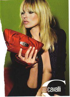Long Bang Kate Moss 2008 JUST CAVALLI ad