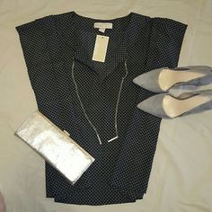MICHAEL Michael Kors Blouse Simply Chic blouse from Michel Kors. Loose fit. Dress it up and down. ???? MICHAEL Michael Kors Tops Blouses