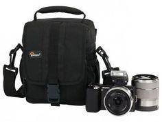 Bolsa para Câmera Digital Profissional - Lowepro Adventura 120 com as melhores condições você encontra no Magazine Feirao24horas. Confira!