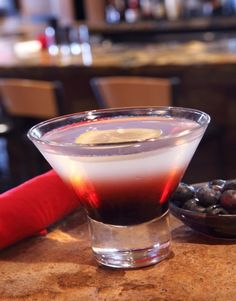 "A ""Stars and Stripes Martini"" Recipe from Ra Sushi,"