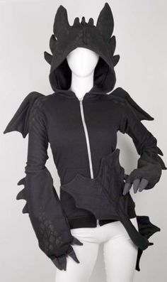 Want This New Innovation? Dragon Hoodie