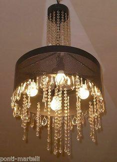 LAMPADARIO in Ferro Battuto . luce classica o domotica Alexa Google . 261 Chandelier, Ceiling Lights, Lighting, Google, Ebay, Home Decor, Light Fixtures, Ceiling Lamps, Chandeliers