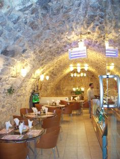 Cafe In The Old City Jerusalem, Israel