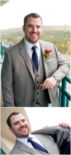 Lake of Isles Fall Wedding