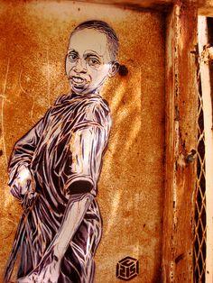 C215 - Senegal (Africa) #street art #graffiti