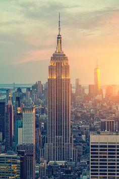 New York Cty, USA by Zsolt Hlinka