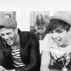 .i love how they laugh, how they just laugh with their whole body.