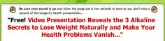 The 3 Simple Alkaline Tricks to Lose Weight Naturally & Stay Healthy