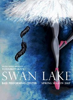 Swan Lake Event Poster - Version 2 This version of the Swan Lake Poster focuses Ballet Posters, Swan Lake, Moth, Opera, Concept Board, Fine Art, Film, Illustration, Movie Posters