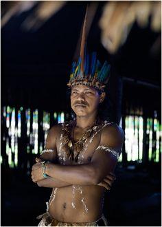 Ticuna Indians, Amazon, Colombia photo by Niels van iperen