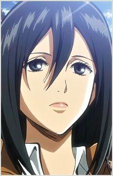 5 Anime, Female Anime, Anime Art, Anime Girls, Anime Girl With Black Hair, Anime Group, Aot Characters, Eremika, Levi X Eren