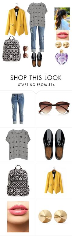"""Untitled #371"" by carolineccvi on Polyvore featuring River Island, Kenzo, FitFlop, Vera Bradley, LASplash, Eddie Borgo, Vera Wang, women's clothing, women and female"