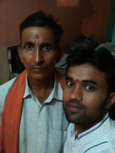 With Chacha ji
