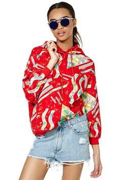 Vintage Get Graphic Sweatshirt | Shop Vintage at Nasty Gal