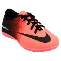 fbd03a189f Tênis Chuteira Futsal Quadra Infantil Nike Mercurial Vortex